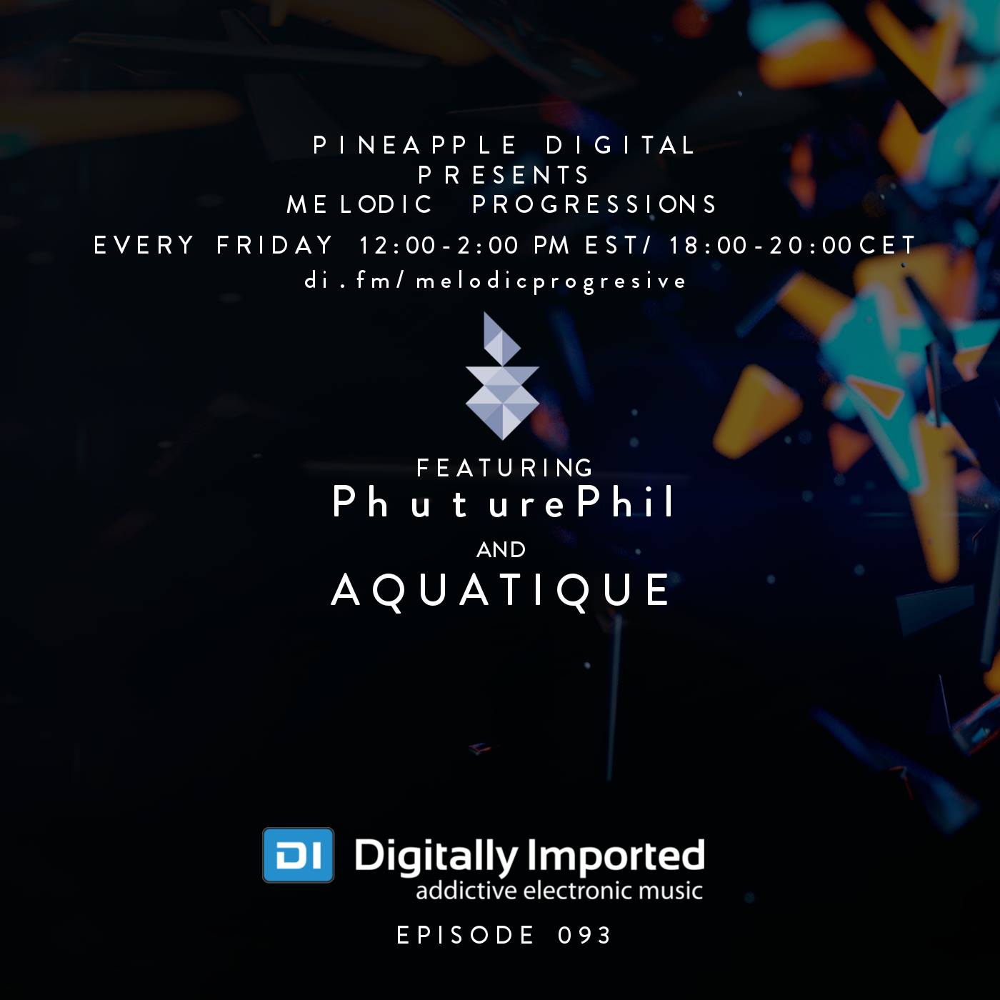 PhuturePhil Special Guest Host PD Melodic Progressive Sessions 093 Feb. 2016