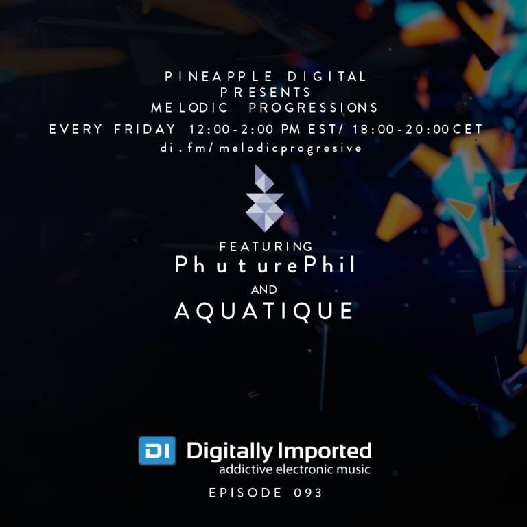 PhuturePhil Special Guest Host PD Melodic Progressive Sessions 093 Feb. 2016