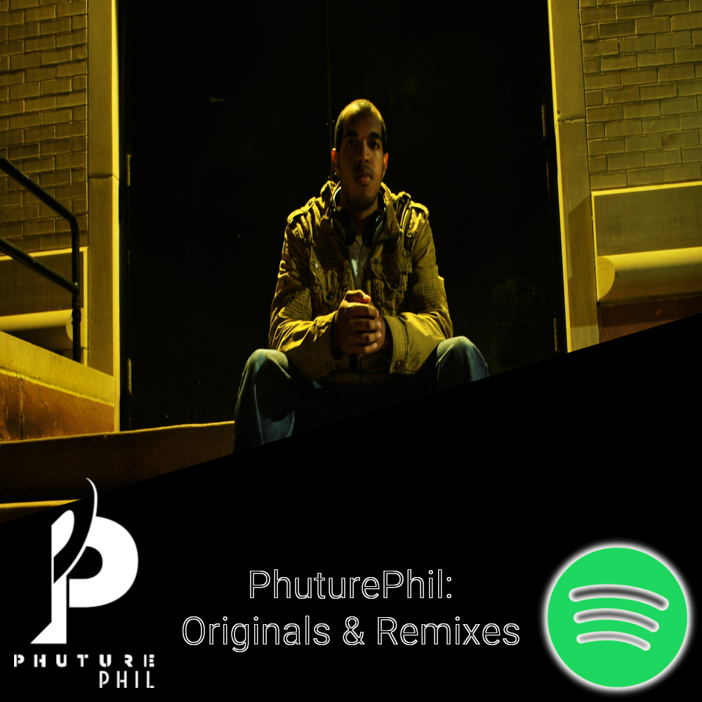 Cover Art for PhuturePhil Originals & Remixes Spotify Playlist